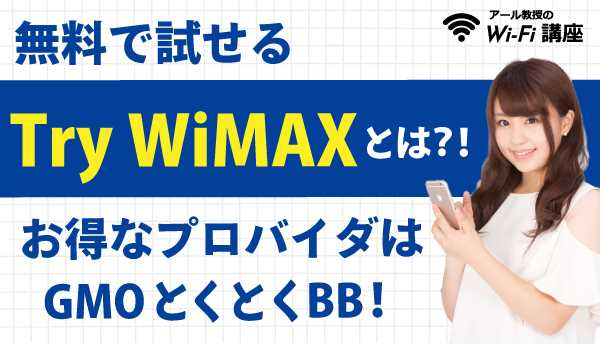 Try WIMAXの画像